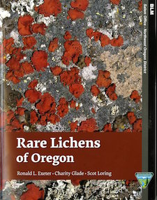 Rare Lichens of Oregon Cover